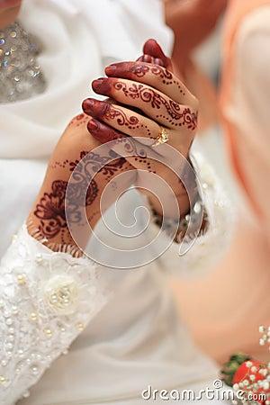 Malay traditional wedding.