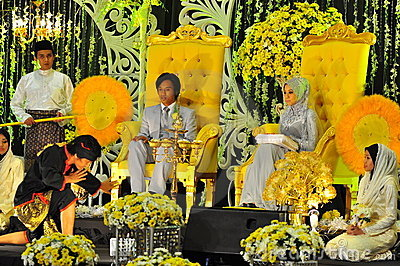 Malay wedding ceremony Editorial Image