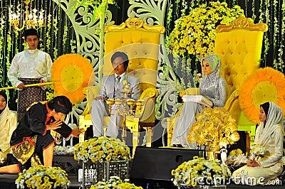 Malay wedding ceremony Editorial Image
