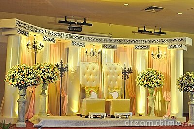 Swell Wedding Stage Decoration Stock Photos Image 10869633 Largest Home Design Picture Inspirations Pitcheantrous