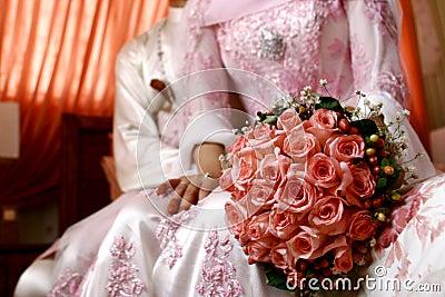 Malay Wedding Flower Bouquet