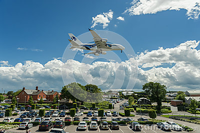 Malaysia Airlines A380 Editorial Photo