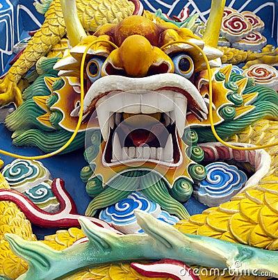 Malaysia - Chinese Dragon - Kuala Lumpur