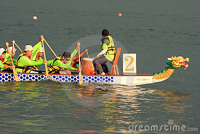 Malaysia dragon boat festival 2011 Editorial Stock Photo