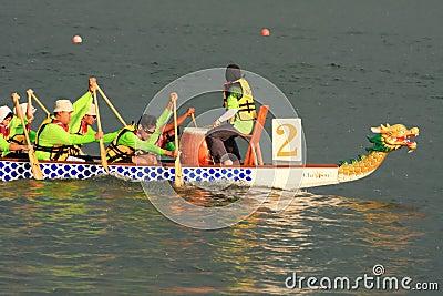 Malaysia dragon boat festival 2011 Editorial Stock Photo