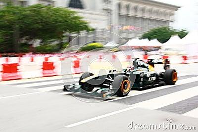 Malaysia F1 Grand Prix 2011 Putrajaya Race Demo Editorial Image