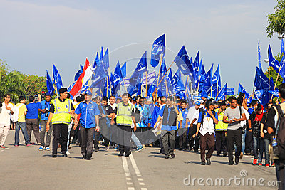 Malaysia General Election 2013 Editorial Photography