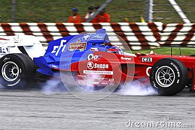 Malaysia, Kuala Lumpur: A1 automobile race 2006 in Editorial Stock Photo