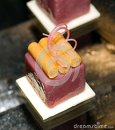 Free Malaysia Kuala Lumpur: Culinary; Fruit Petit Four Stock Images - 4362424