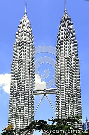 Free Malaysia, Kuala Lumpur: Petronas Towers Stock Image - 4967251