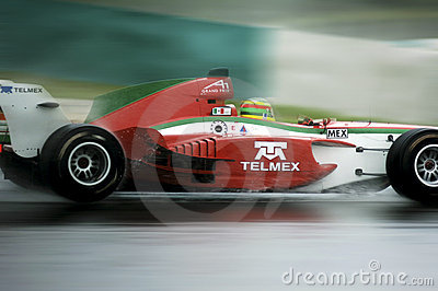 Malaysia, Kuala Lumpur: Sepang A1 racing 2005 nove Editorial Photo