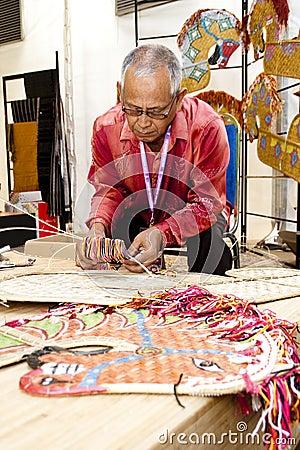 Malaysia National Craft Day 2011 Editorial Photo