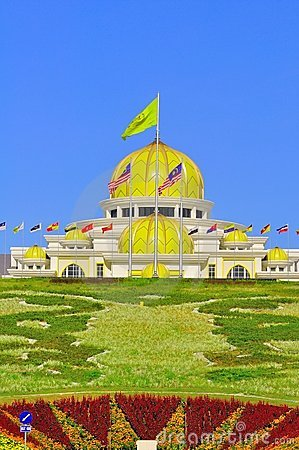 Malaysia national palace Editorial Photography