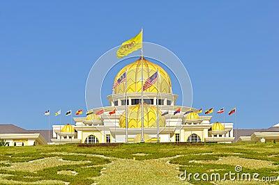 Malaysia national palace Editorial Photo