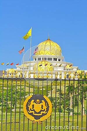 Malaysia national palace Editorial Image