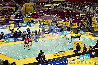 Malaysia Open Badminton Championship 2012 Editorial Image