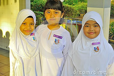 Malaysia primary school children Editorial Photography