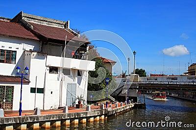 Malaysia Riverside Traditional House