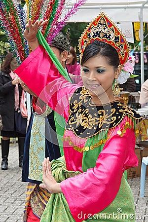 Malaysian Dance Editorial Image