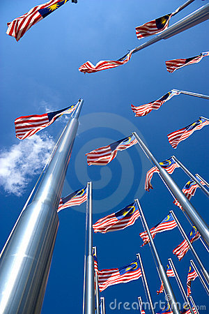 Free Malaysian Flags Stock Photos - 9707553
