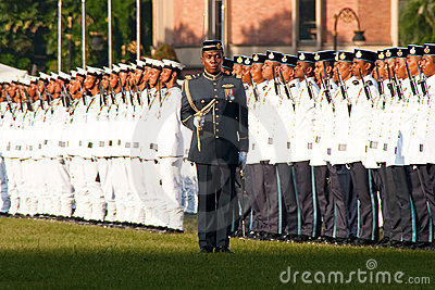 Malaysian King Birthday Parade Celebrations 2011 Editorial Stock Photo