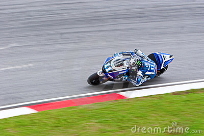 The Malaysian Motorcycle Grand Prix 2011 Editorial Stock Image