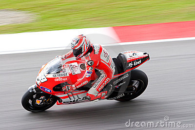 The Malaysian Motorcycle Grand Prix 2011 Editorial Photography