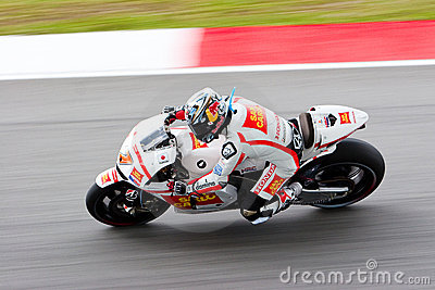 The Malaysian Motorcycle Grand Prix 2011 Editorial Photo
