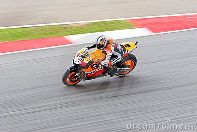 The Malaysian Motorcycle Grand Prix 2011 Editorial Image