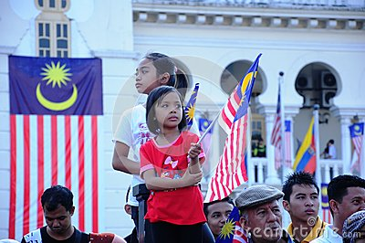 Malaysian National Day 2012 Editorial Image