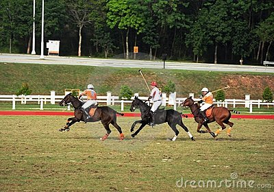 Malaysian Open Polo Tournament 2011 Editorial Photography
