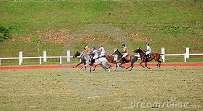 Malaysian Open Polo Tournament 2011 Editorial Stock Photo