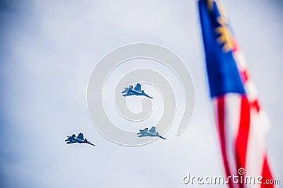 Malaysian Royal Army 80th Anniversary Editorial Image