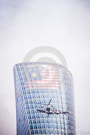 Malaysian Royal Army 80th Anniversary Editorial Stock Image