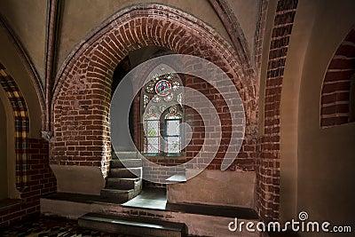 Malbork castle in Poland.