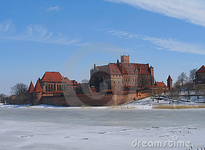 Malbork castle of teutonic knights