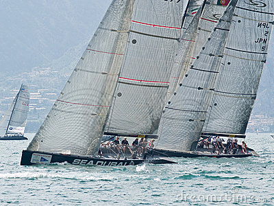 Malcesine Slam Cup 2008 Editorial Stock Image