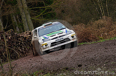 Malcolm Wilson Rally 2012 Editorial Photo
