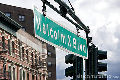 Malcolm X Blvd - Harlem, New York City