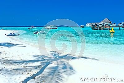 Maldive water villa - bungalows