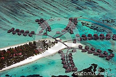 Maldives aerial