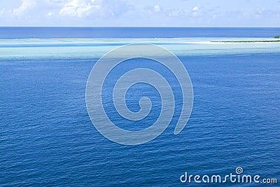 Maldives island beach