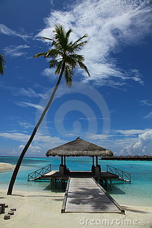 Free Maldives Seascape Stock Photography - 19631222
