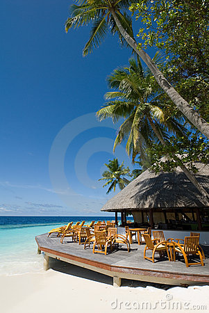 Free Maldives Seascape Stock Image - 5225901