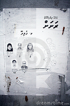 Maldivian election Editorial Photography