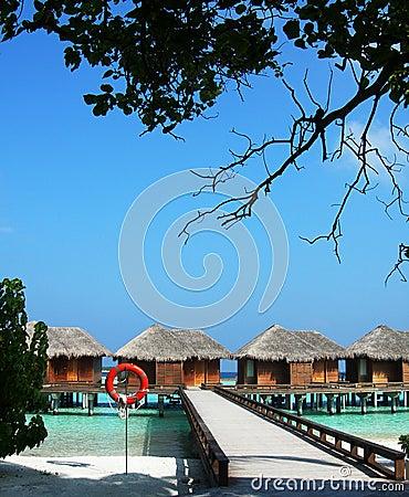 Maldivian resort