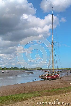 Free Maldon Essex UK Sailing Barge Royalty Free Stock Photo - 27353185