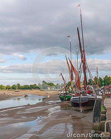 Free Maldon Essex UK Thames Barge Royalty Free Stock Photos - 27353738