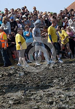 Maldon Mud Race 2011 Editorial Photography