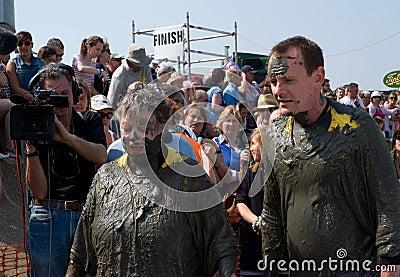 Maldon Mud Race 2011 Editorial Stock Photo